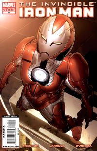 Cover Thumbnail for Invincible Iron Man (Marvel, 2008 series) #11 [Second Printing]