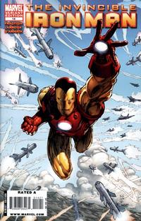 Cover Thumbnail for Invincible Iron Man (Marvel, 2008 series) #14 [Variant Edition]