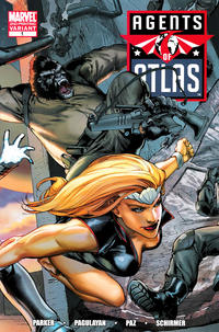 Cover Thumbnail for Agents of Atlas (Marvel, 2009 series) #1 [2nd Printing Variant Cover]