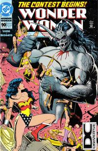 Cover for Wonder Woman (DC, 1987 series) #90 [Direct Sales]