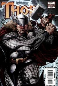 Cover for Thor (Marvel, 2007 series) #600 [Variant Edition - Gabriele Dell'Otto]