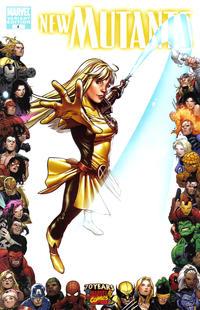 Cover Thumbnail for New Mutants (Marvel, 2009 series) #4 [70th Anniversary Frame Variant Cover]