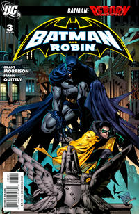 Cover Thumbnail for Batman and Robin (DC, 2009 series) #3 [Tony S. Daniel Variant Cover]