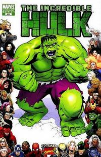 Cover Thumbnail for Incredible Hulk (Marvel, 2009 series) #601 [Marvel 70th Anniversary Border]