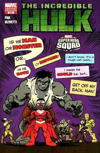 Cover Thumbnail for Incredible Hulk (Marvel, 2009 series) #602 [Super Hero Squad Variant Edition]