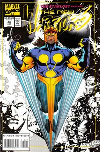 Cover Thumbnail for The New Warriors (Marvel, 1990 series) #40 [Regular Edition]