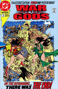 Cover Thumbnail for War of the Gods (DC, 1991 series) #4 [Collector's Edition]