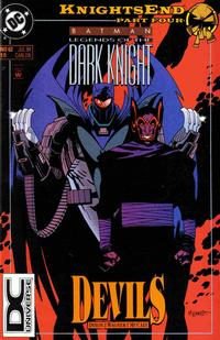 Cover Thumbnail for Batman: Legends of the Dark Knight (DC, 1992 series) #62 [Boxed Pack Variant]