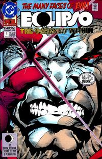 Cover Thumbnail for Eclipso: The Darkness Within (DC, 1992 series) #1 [Direct with Gem]