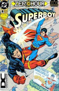 Cover Thumbnail for Superboy (DC, 1994 series) #8 [DC Universe box]