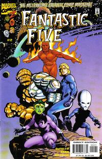 Cover Thumbnail for Fantastic Five (Marvel, 1999 series) #2 [2 for Number 2]