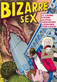 Cover Thumbnail for Bizarre Sex (Kitchen Sink Press, 1972 series) #4