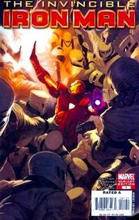 Cover Thumbnail for Invincible Iron Man (Marvel, 2008 series) #1 [Marko  Djurdjevic]