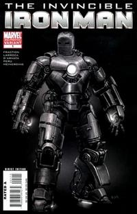 Cover Thumbnail for Invincible Iron Man (Marvel, 2008 series) #1 [2nd Printing Rick Meinerding Cover]