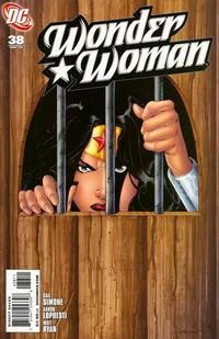 Cover Thumbnail for Wonder Woman (DC, 2006 series) #38