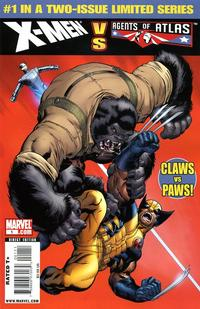 Cover Thumbnail for X-Men vs. Agents of Atlas (Marvel, 2009 series) #1
