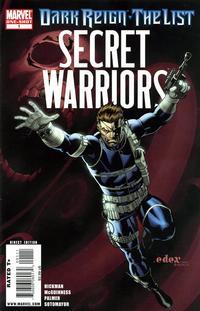 Cover Thumbnail for Dark Reign: The List - Secret Warriors One-Shot (Marvel, 2009 series) #1