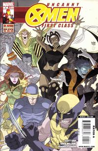 Cover Thumbnail for Uncanny X-Men: First Class (Marvel, 2009 series) #4