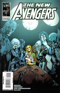 Cover Thumbnail for New Avengers (Marvel, 2005 series) #60