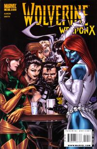 Cover for Wolverine Weapon X (Marvel, 2009 series) #10