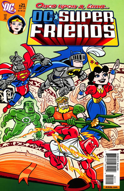 Cover for Super Friends (DC, 2008 series) #21