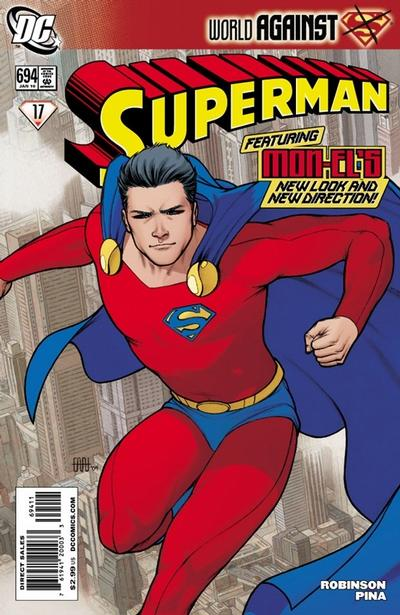 Cover for Superman (DC, 2006 series) #694