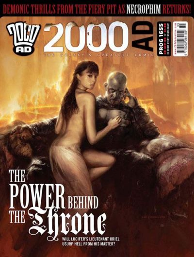 Cover for 2000 AD (Rebellion, 2001 series) #1655