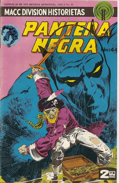 Cover for La Pantera Negra (Editorial OEPISA, 1974 series) #44