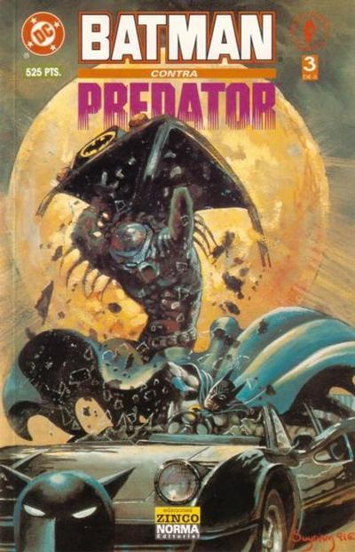 Cover for Batman vs. Predator (Zinco, 1992 series) #3