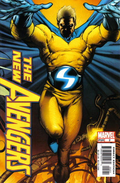 Cover for New Avengers (Marvel, 2005 series) #2 [Direct Edition]