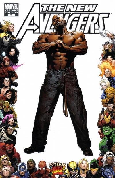 Cover for New Avengers (Marvel, 2005 series) #56 [Jackson Guice Variant Cover]