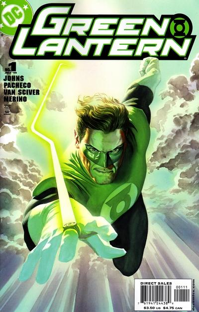 Cover for Green Lantern (DC, 2005 series) #1 [Direct Sales - Carlos Pacheco / Jesus Merino Cover]