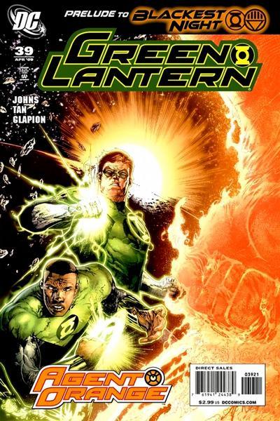 Cover for Green Lantern (DC, 2005 series) #39 [Rudolfo Migliari Variant Cover]