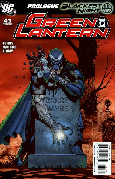 Cover for Green Lantern (DC, 2005 series) #43 [Second Printing]