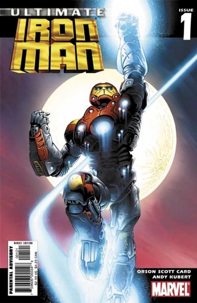 Cover for Ultimate Iron Man (Marvel, 2005 series) #1 [Cover A]