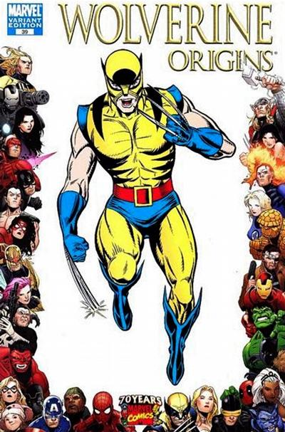 Cover for Wolverine: Origins (Marvel, 2006 series) #39