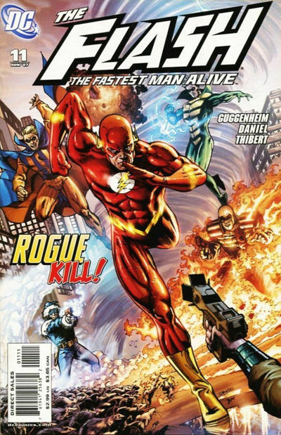 Cover for Flash: The Fastest Man Alive (DC, 2006 series) #11 [Ethan Van Sciver Cover]