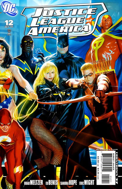 Cover for Justice League of America (DC, 2006 series) #12 [Cover B]