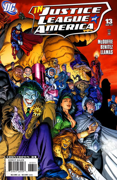Cover for Justice League of America (DC, 2006 series) #13 [Cover A]