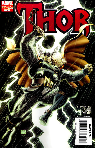 Cover for Thor (Marvel, 2007 series) #6