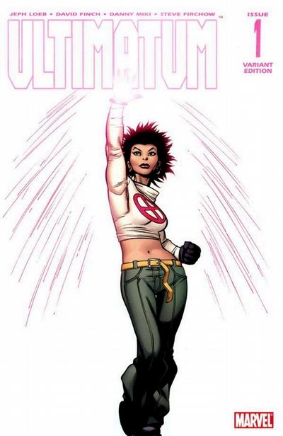Cover for Ultimatum (Marvel, 2009 series) #1 [Variant Edition - Ed McGuinness]