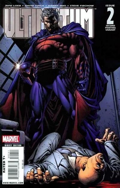 Cover for Ultimatum (Marvel, 2009 series) #2 [Variant Edition - Black and White]