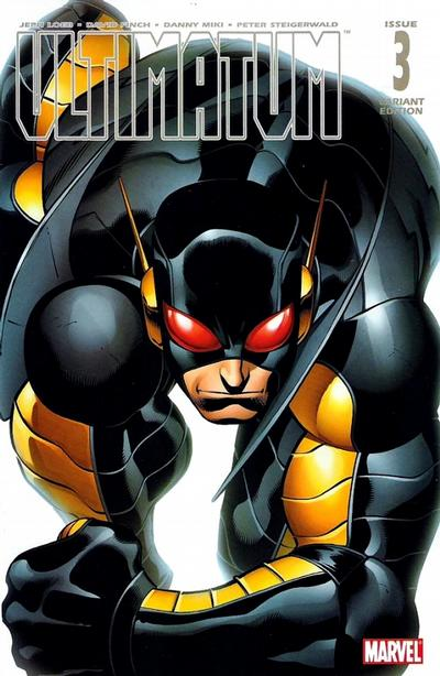 Cover for Ultimatum (Marvel, 2009 series) #3 [Variant Edition]