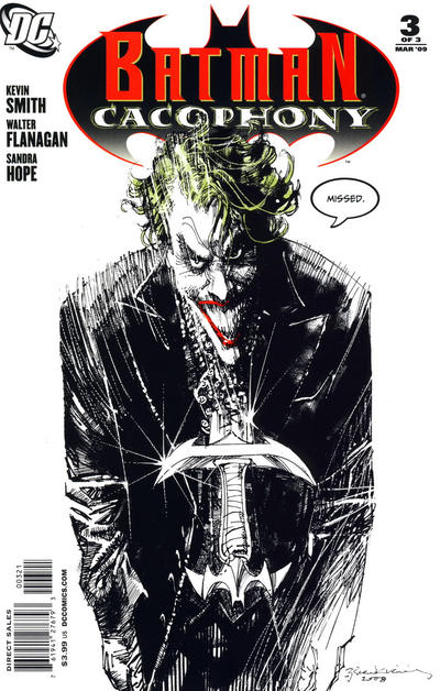 Cover for Batman Cacophony (DC, 2009 series) #3 [Limited Edition Variant Cover]