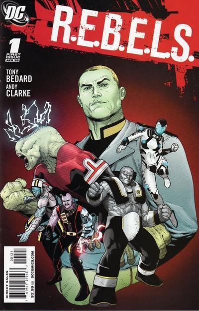 Cover for R.E.B.E.L.S. (DC, 2009 series) #1