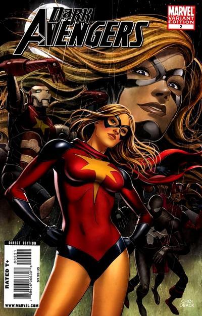 Cover for Dark Avengers (Marvel, 2009 series) #2