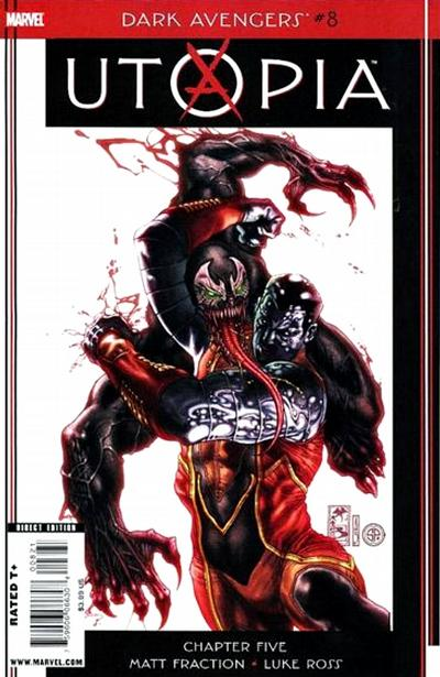 Cover for Dark Avengers (Marvel, 2009 series) #8