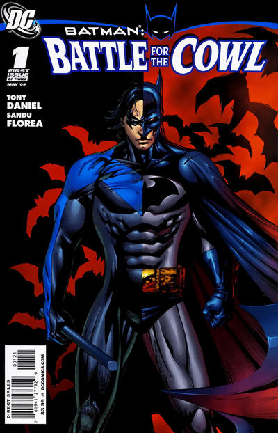 Cover for Batman: Battle for the Cowl (DC, 2009 series) #1 [Cover B - Variant Cover]