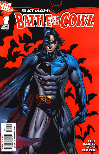 Cover for Batman: Battle for the Cowl (DC, 2009 series) #1 [Cover A]