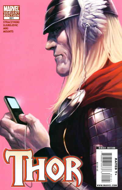 Cover for Thor (Marvel, 2007 series) #601 [Variant Edition]